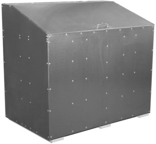 ящик оцинкованный 1200 х 900 х 900 мм материалы хранят